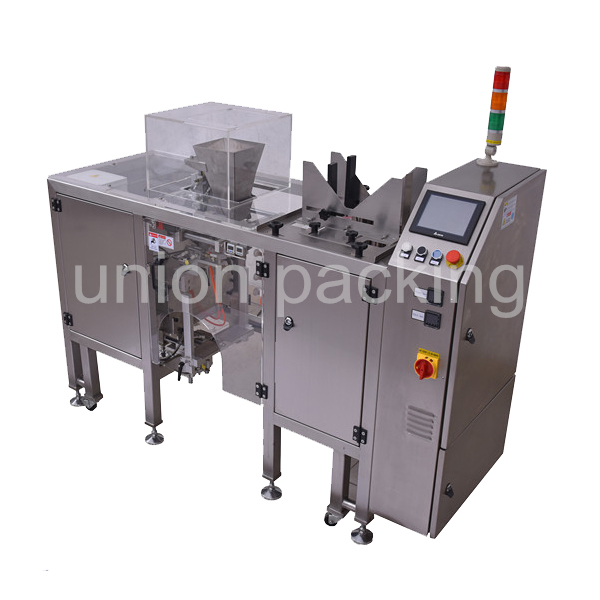 UN-MDP-S Standard Mini Doypack Machine For Granules