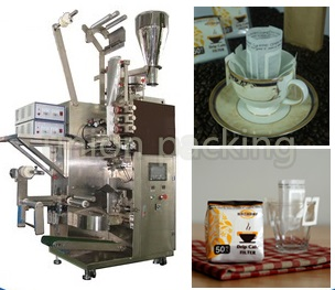 Ear hanging coffee packing machine