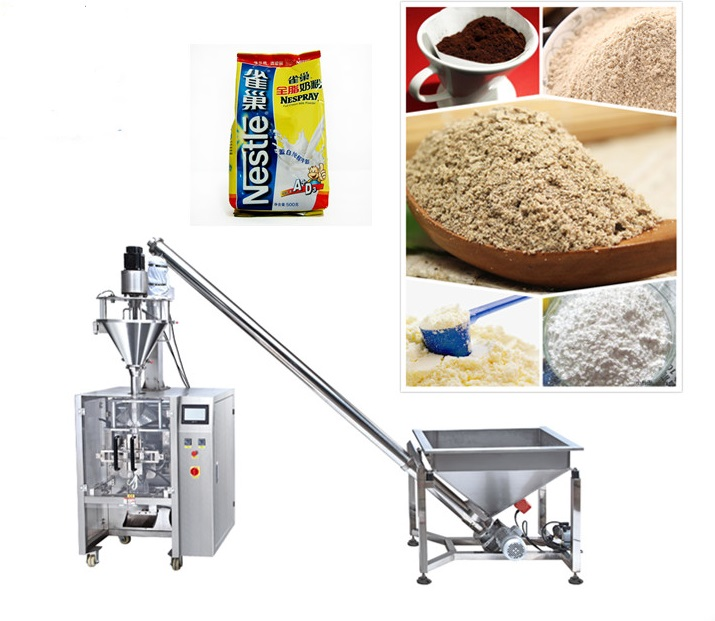Full automatic vertical powder packing machine