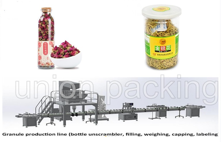 Automatic Medicinal health Tibetan red scented tea bottling Production Line