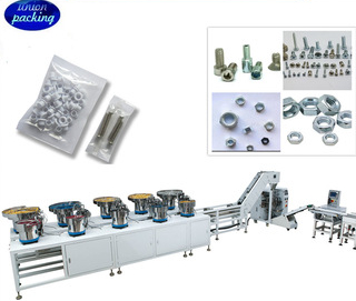 Vibrator bowl feeder and counting and packing system