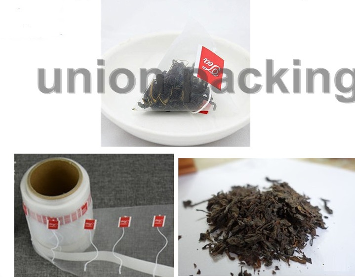degradable triangle nylon membrane for Corp jasmine and flower tea bag